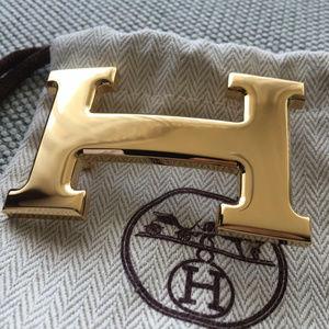 Authentic Hermes Buckle